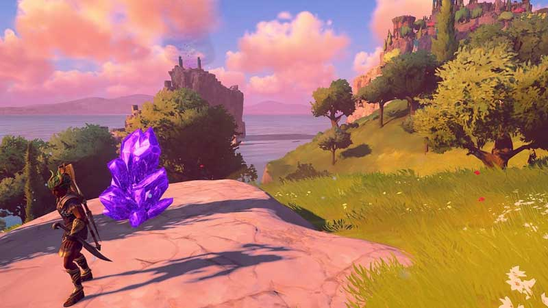 Immortals Fenyx Rising Purple Adamantine Shard