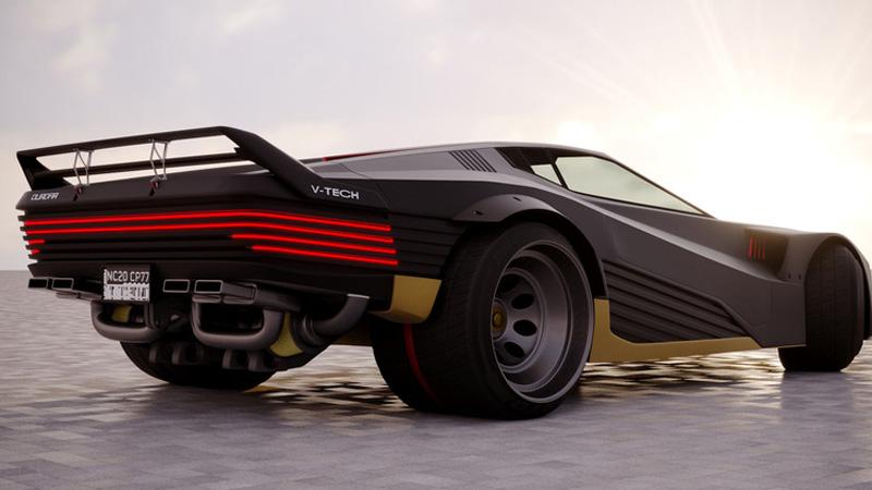 Quadra Turbo R V-Tech best cars in cyberpunk 2077