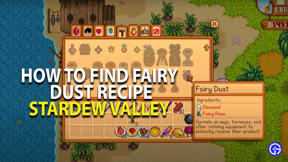Stardew Valley Fairy Dust Recipe Guide