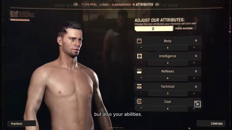 best attributes to start with in cyberpunk 2077