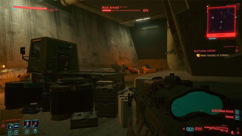 best sniper rifles cyberpunk 2077