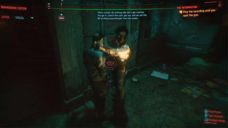 how to use braindance in cyberpunk 2077