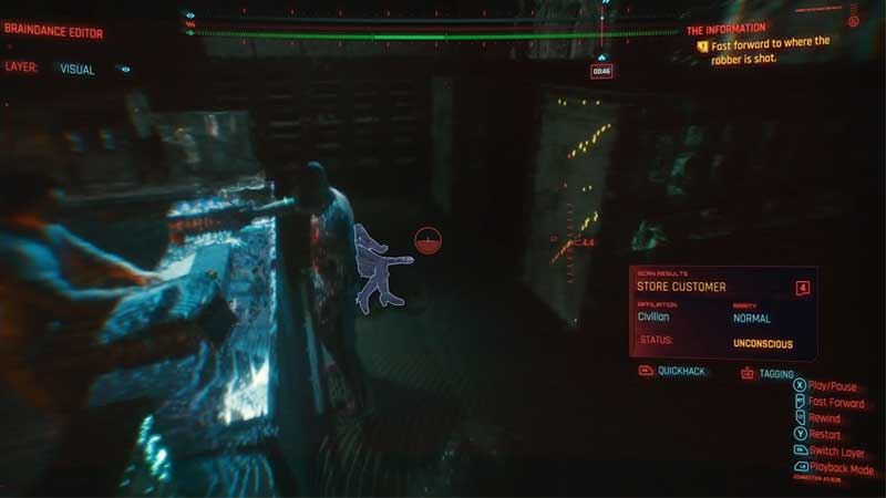 how to use braindance editor in cyberpunk 2077