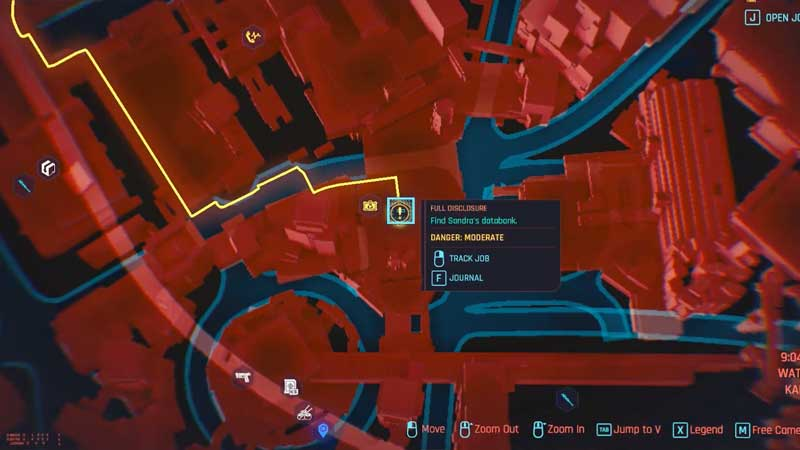 cyberpunk 2077 full disclosure databank quest