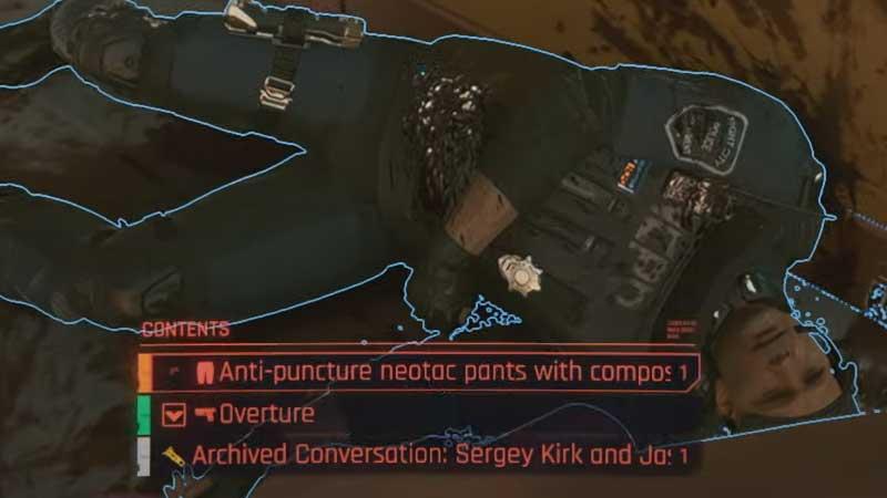 cyberpunk 2077 legendary clothes locations