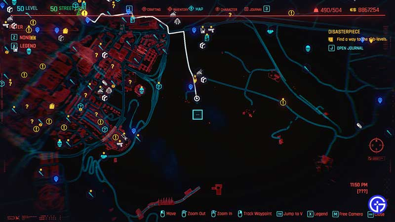 dex iconic pistol plan b location in cyberpunk 2077
