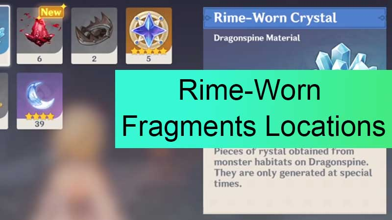 How to Farm Rime-Worn Fragments