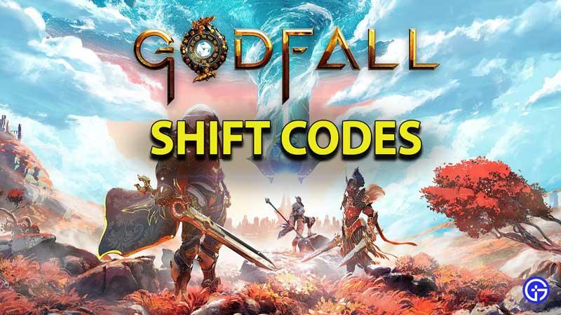 godfall shift codes list