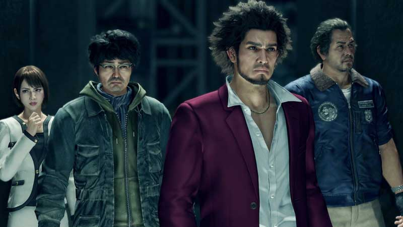 grab objects and use as weapons in yakuza like a dragon