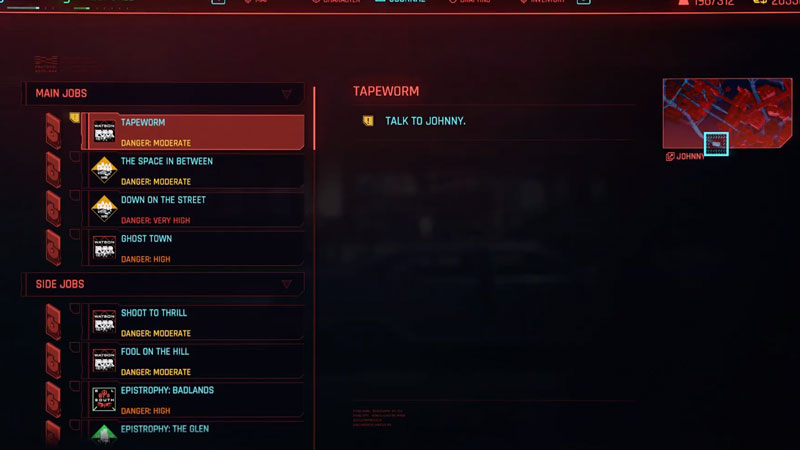 how to complete the tapeworm quest in cyberpunk 2077