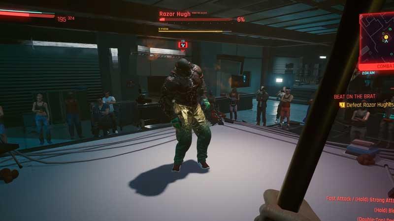 how to defeat razor hugh in cyberpunk 2077