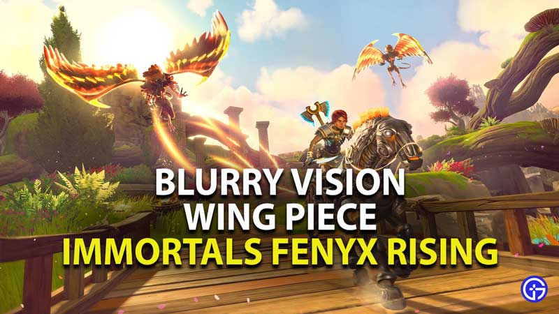 how to get the wing piece in immortals fenyx rising