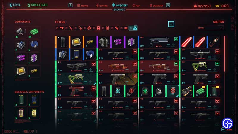 how to increase carry capacity in cyberpunk 2077
