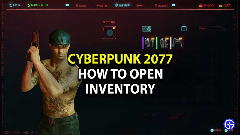how-to-open-inventory-cyberpunk-2077