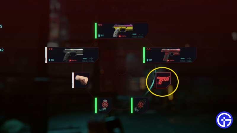 how-to-put-away-gun-weapons-cyberpunk-2077
