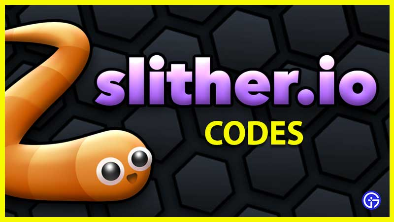 what are slither.io codes and how to redeem