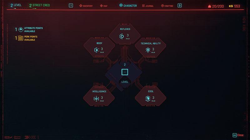 how to respec in cyberpunk 2077