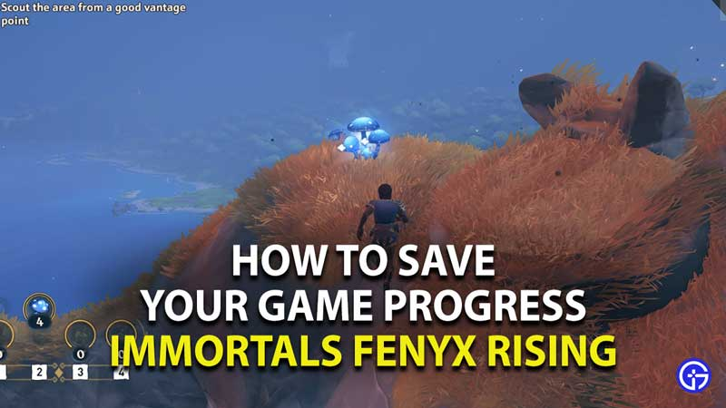 how to save your game progress in immortals fenyx rising