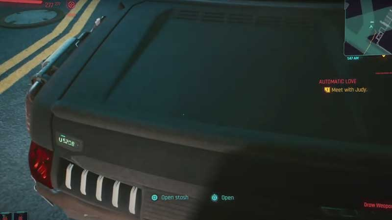 how-to-stash-items-cyberpunk-2077