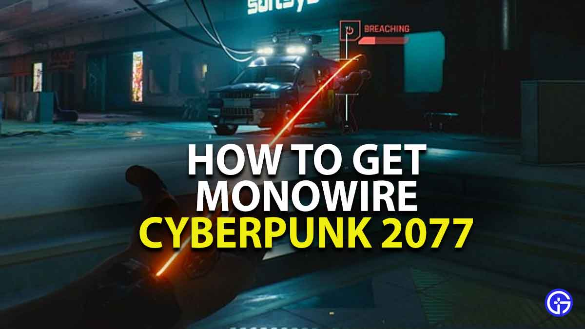 how to use monowire in cyberpunk 2077