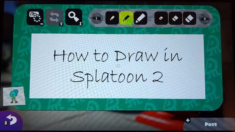 How to Draw in Splatoon 2
