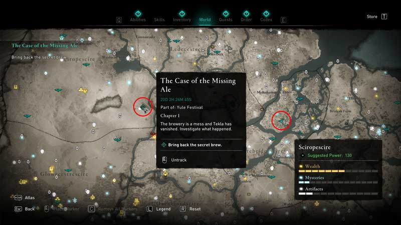 the case of the missing ale glitch in ac valhalla