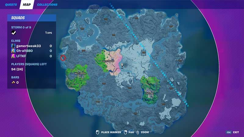 the reaper npc sweath sands location in fortnite