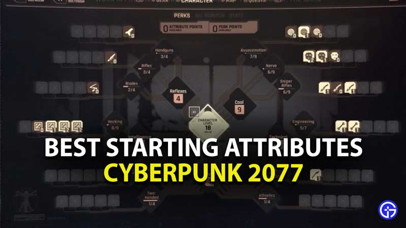 what are the best starting attributes in cyberpunk 2077