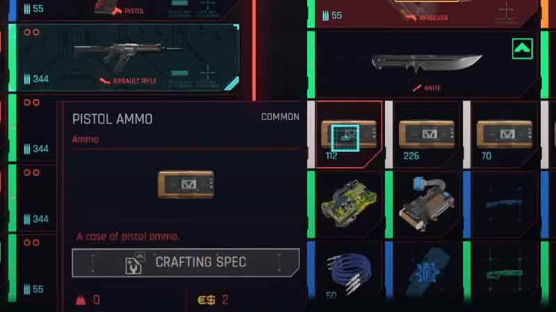 where-to-buy-weapons-ammunition-cyberpunk-2077