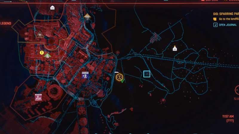 where to find broken bot location in cyberpunk 2077