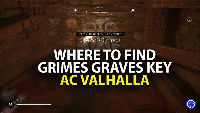 where to find grimes graves key in assassins creed valhalla