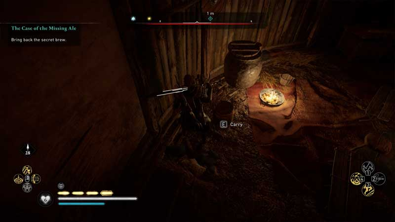 where to find the secret brew in assassin's creed valhalla