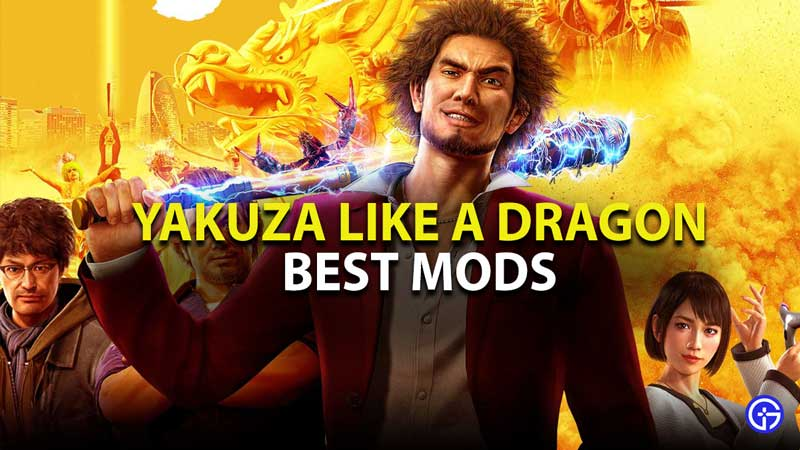 yakuza like a dragon best mods