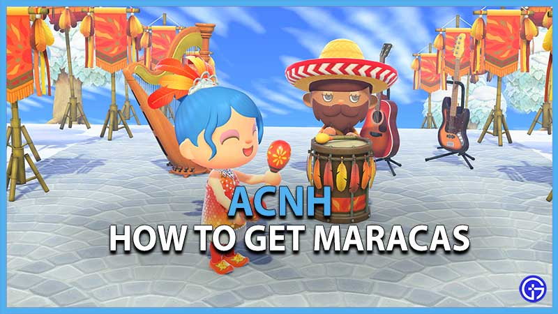 Animal Crossing New Horizons How to Get the Maracas