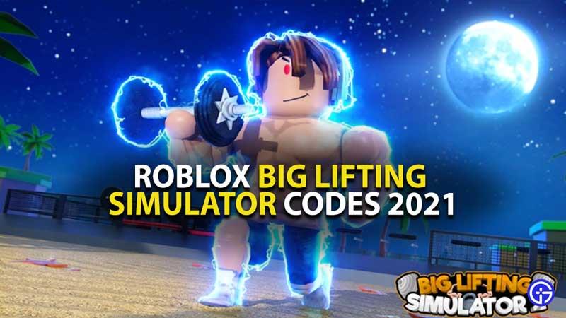 Big Lifting Simulator Codes