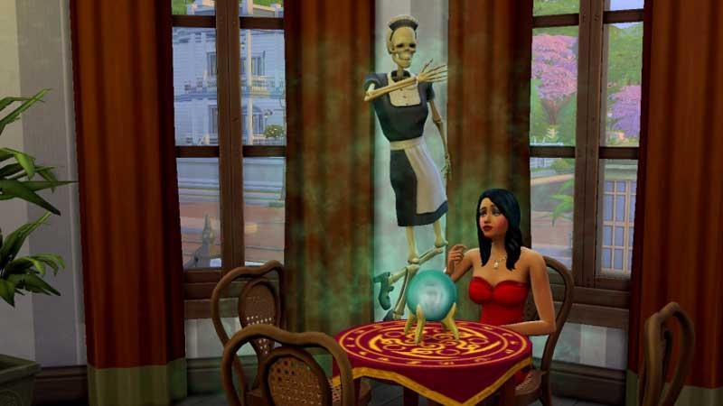 Bonehilda The Sims 4 Paranormal Stuff Guide