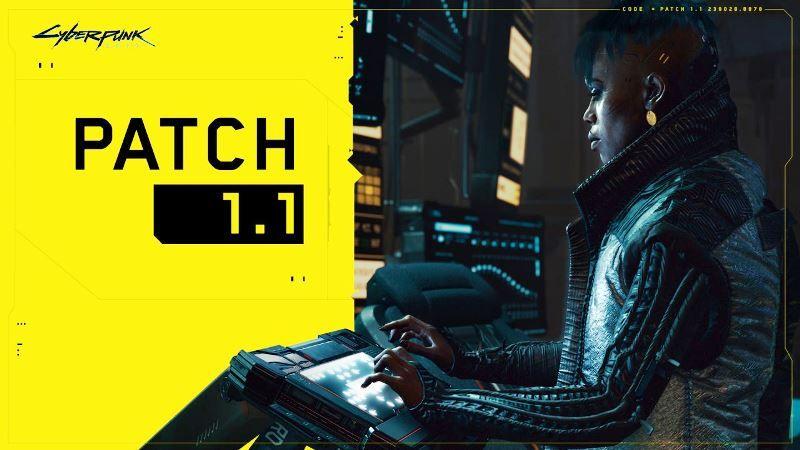 Cyberpunk 2077 Patch 1.1 Download