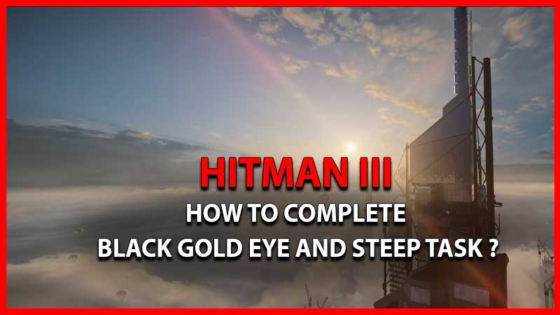 HOW TO COMPLETE BLACK GOLD EYE