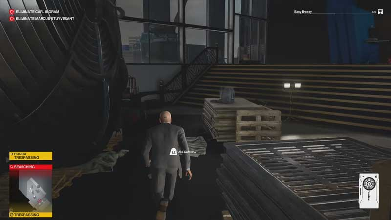 Helicopter key location Hitman 3