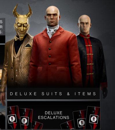 Hitman 3 Deluxe Suit
