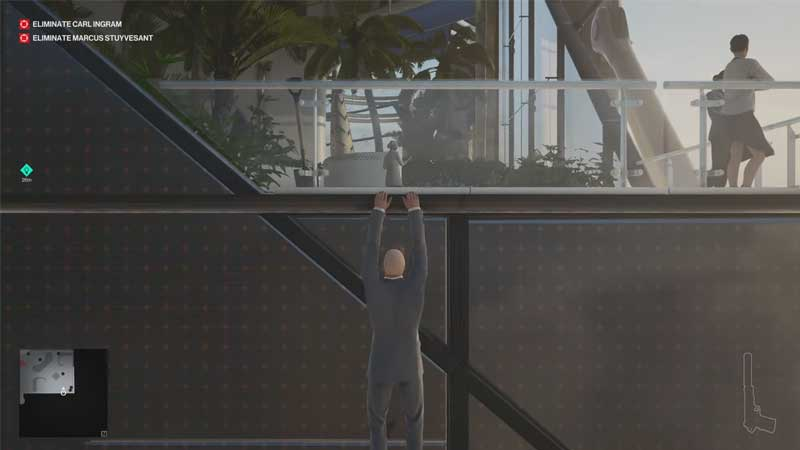 Hitman 3 How To Get Helicopter Key In Dubai