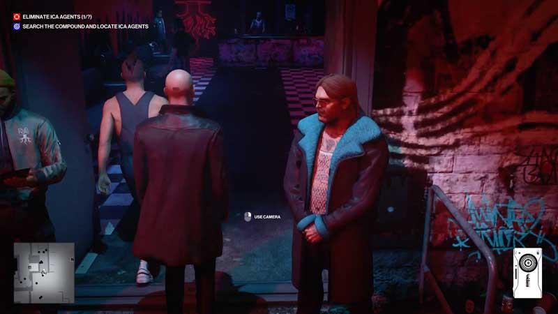 Hitman 3 enter the club in Berlin