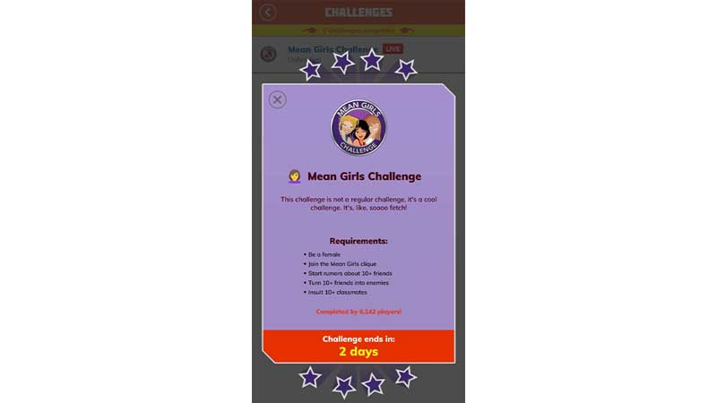 How-to-Complete-The-Mean-Girls-Challenge-in-Bitlife
