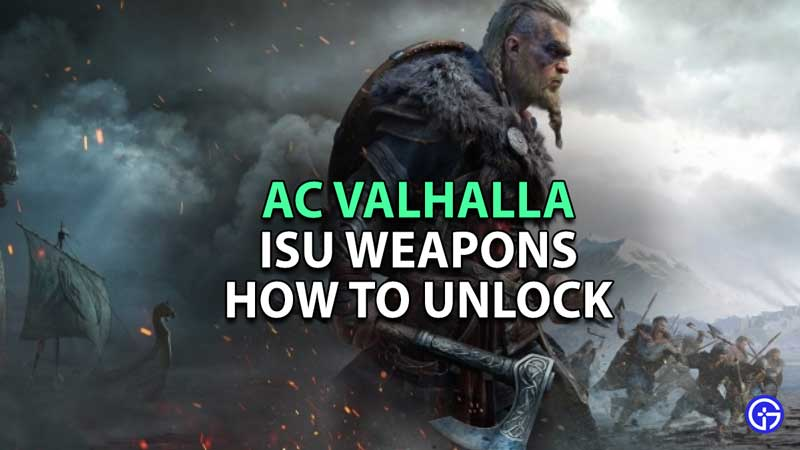 Isu Weapons In AC Valhalla