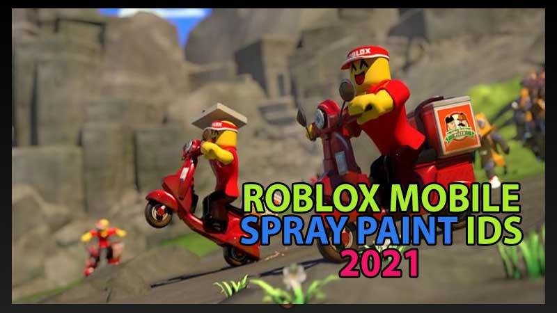 Rlblox Mobile Spray Paint Codes