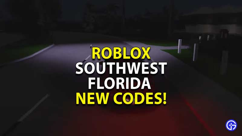 Roblox-Southwest-Florida-Codes