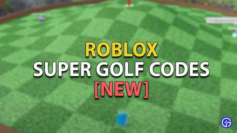 Roblox-Super-Golf-Codes