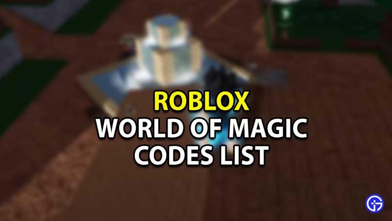 Roblox-World-of-Magic-Codes