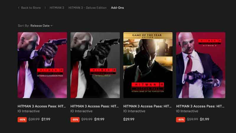 Should I Buy Access Passes For Hitman 3