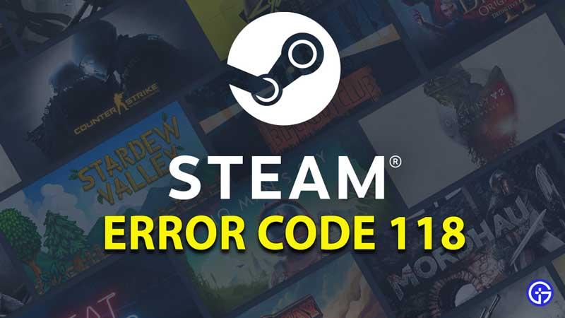 Steam-Error-Code-118